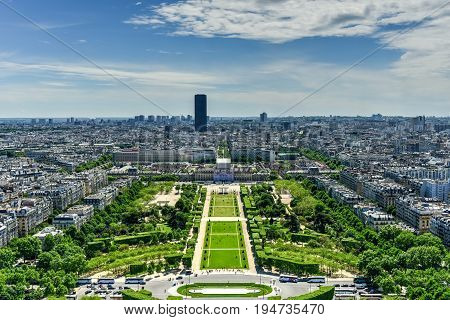 Champ De Mars - Paris, France