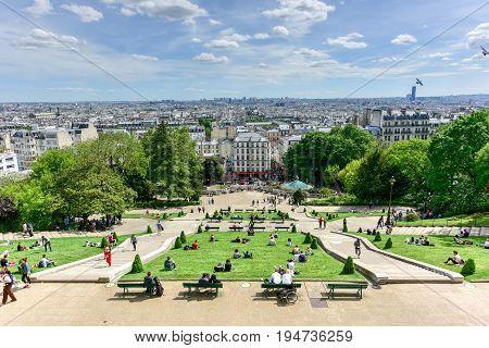 Basilica Sacre Coeur - Paris, France