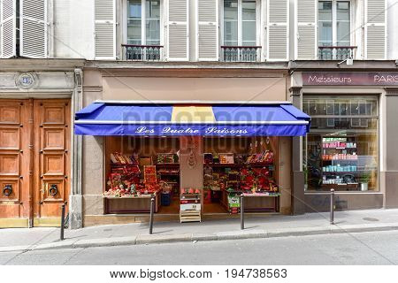 French Fruit Shop
