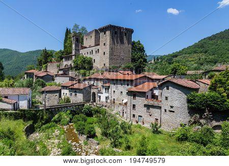 Castello della Verrucola Fivizzano Massa-Carrara Italy picture