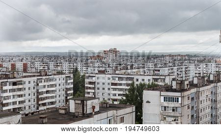Multi-storey Residential building in Russian poor living districts, Kazan