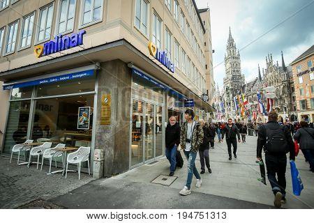 Mlinar Bakery In Munich
