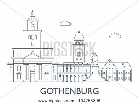Gothenburg. The Most Famous Buildings Of The City