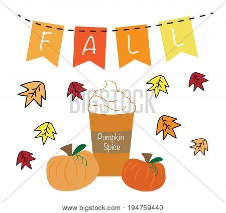Fall Autumn Harvest Pumpkin Pie Spice Coffee