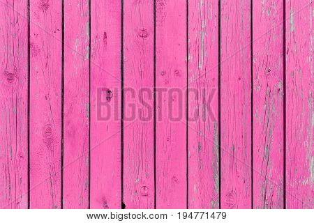 The Old Pink Wood Texture With Natural Patterns