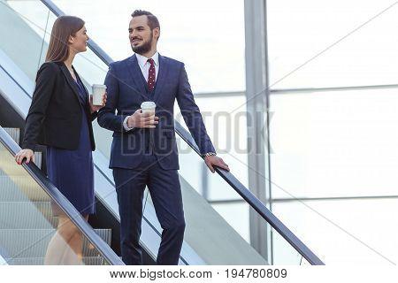 Business Partners Talking