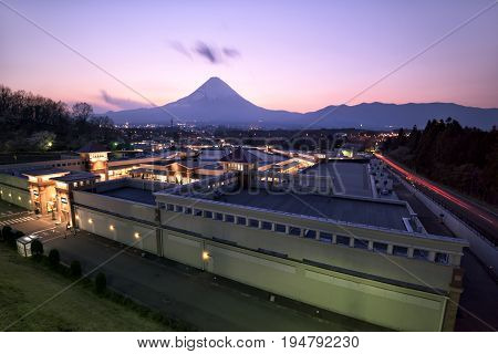 Fuji mountain. Fuji mountain is one of the best-known symbols of Japan.