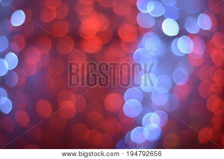 Shiny lens blur spot effect. Abstract background image with shimmering effect.