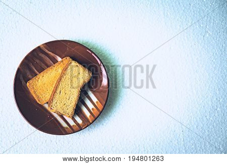 Homemade rusks! Enjoy the goodness of wheat! A perfect snack.