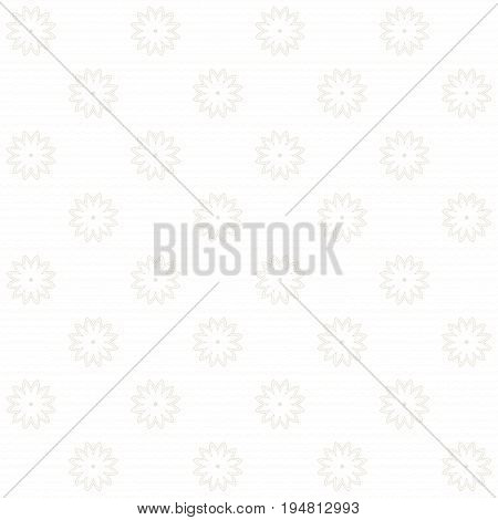 Seamless vector background. Vintage floral calico pattern.