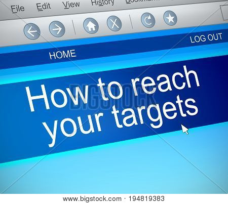 Reach Your Targets.
