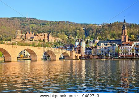 Bridge in Heidelberg, Germany