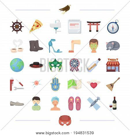 plumbing, Russia, travel and other  icon in cartoon style.health, equipment, pregnancy icons in set collection.