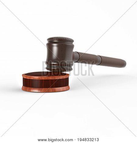 3D Rendering. Hammer Of Justice
