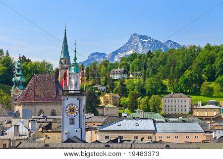 Old town Salzburg, Austria