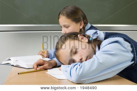 Sleeping At School