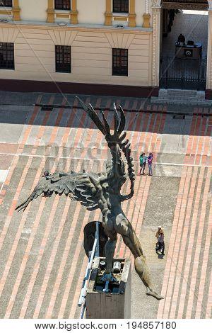 Bolivar Condor From Above