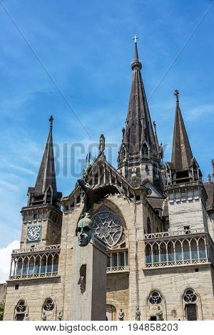 Downtown Manizales Cathedral