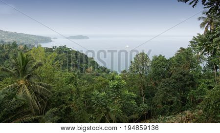 North coast of Principe Island, Sao Tome and Principe, Africa