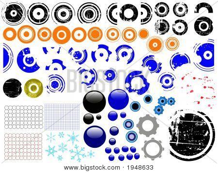 Grunge Elements - Over 80 Individual Grunge Design Elements