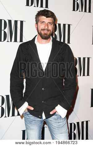 NASHVILLE, TN-NOV 3: Recording artist Brian Davis attends the 63rd annual BMI Country awards at BMI on November 3, 2015 in Nashville, Tennessee.