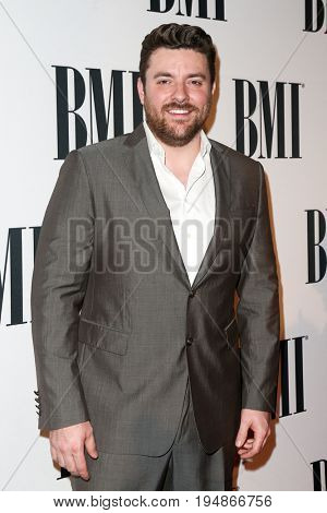 NASHVILLE, TN-NOV 3: Recording artist Chris Young attends the 63rd annual BMI Country awards at BMI on November 3, 2015 in Nashville, Tennessee.