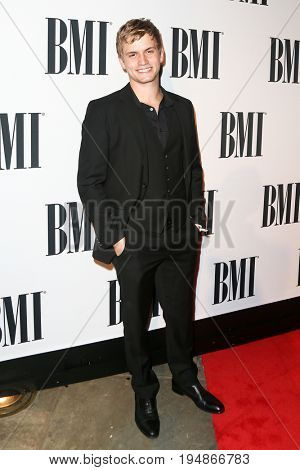 NASHVILLE, TN-NOV 3: Recording artist Levi Hummon attends the 63rd annual BMI Country awards at BMI on November 3, 2015 in Nashville, Tennessee.