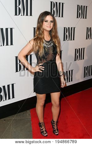 NASHVILLE, TN-NOV 3: Recording artist Marin Morris attends the 63rd annual BMI Country awards on November 3, 2015 in Nashville, Tennessee.
