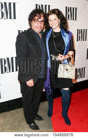 NASHVILLE, TN-NOV 3: Recording artist John Oates and Aimee Oates attend the 63rd annual BMI Country awards at BMI on November 3, 2015 in Nashville, Tennessee.