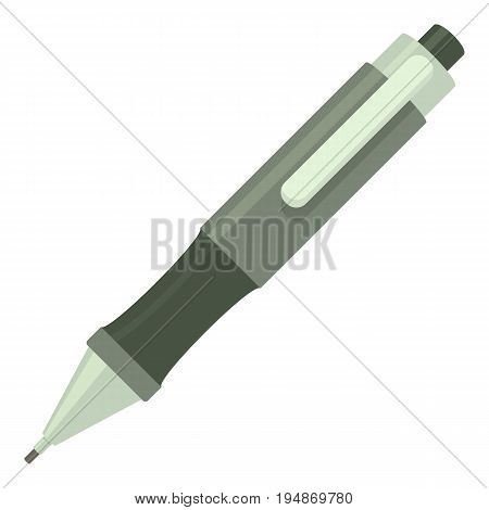 Pen icon. Cartoon illustration of pen vector icon for web isolated on white background