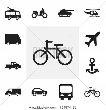 Set Of 12 Editable Shipment Icons. Includes Symbols Such As Weapon, Omnibus, Food Transport And More. Can Be Used For Web, Mobile, UI And Infographic Design.