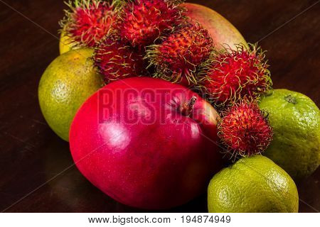 Tropical Fruit Selection