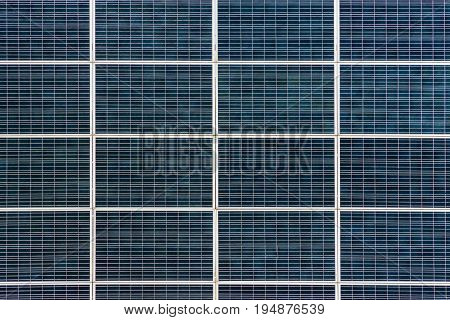 Texture of panel a solar battery of several blocks located one near the other
