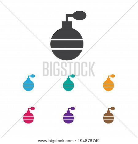 Vector Illustration Of Barbershop Symbol On Fragrance Icon. Premium Quality Isolated Odor Element In Trendy Flat Style.