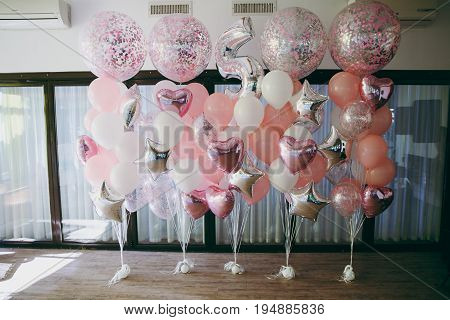 Decoration With Air Balloons