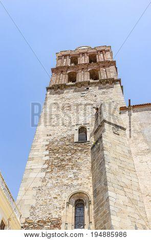 Candelaria church and Collegiate in Zafra, Province of Badajoz, Spain