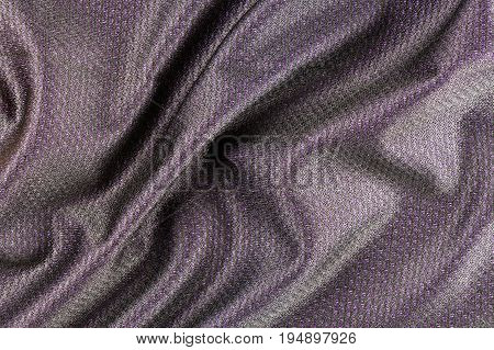 Layered Purple Fabric Upper With A Black Translucent Layer Of Texture To The Design