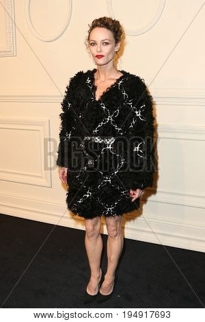 NEW YORK-MAR 31: Actress Vanessa Paradis attends the CHANEL Paris-Salzburg 2014/15 Metiers d'Art Show and Party at the Park Avenue Armory on March 31, 2015 in New York City.