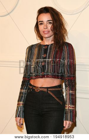 NEW YORK-MAR 31: Actress Elodie Bouchez attends the CHANEL Paris-Salzburg 2014/15 Metiers d'Art Show and Party at the Park Avenue Armory on March 31, 2015 in New York City.