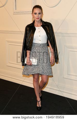 NEW YORK-MAR 31: Actress/model Dylan Penn skirt attends the CHANEL Paris-Salzburg 2014/15 Metiers d'Art Show and Party at the Park Avenue Armory on March 31, 2015 in New York City.