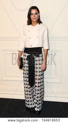 NEW YORK-MAR 31: Actress Loan Chabanol attends the CHANEL Paris-Salzburg 2014/15 Metiers d'Art Show and Party at the Park Avenue Armory on March 31, 2015 in New York City.