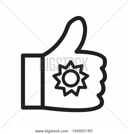 Social, media, web icon vector image. Can also be used for IT services. Suitable for use on web apps, mobile apps and print media.