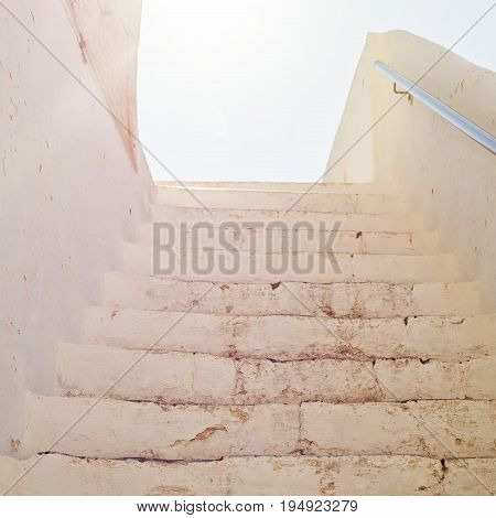 Up the stairs to the daylight, historicalarchitecture