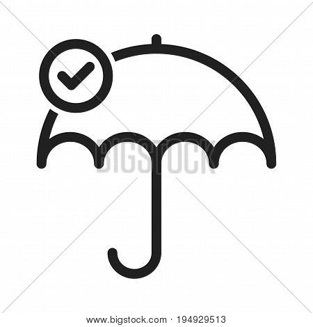 Reliability, technology, businessman icon vector image. Can also be used for soft skills. Suitable for mobile apps, web apps and print media.