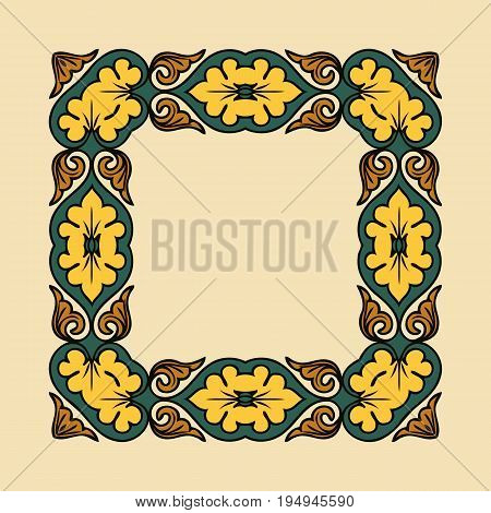 illustration background with celtic ornaments ornaments and patterns for design and ornate
