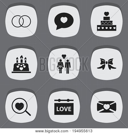 Set Of 9 Editable Passion Icons. Includes Symbols Such As Family, Banner, Butterfly And More. Can Be Used For Web, Mobile, UI And Infographic Design.