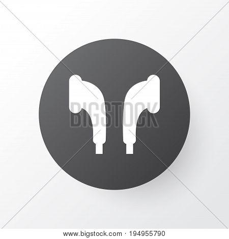 Earmuff Icon Symbol. Premium Quality Isolated Headphone Element In Trendy Style.