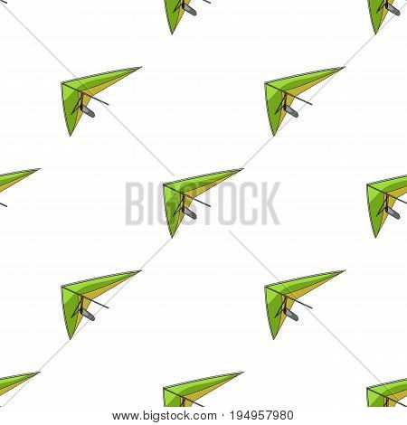 Hang gliding.Extreme sport single icon in cartoon style vector symbol stock illustration .