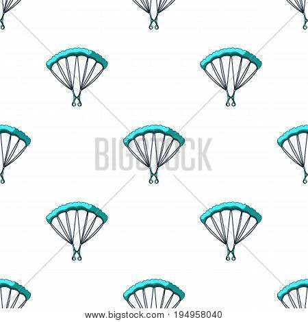Parachuting.Extreme sport single icon in cartoon style vector symbol stock illustration .