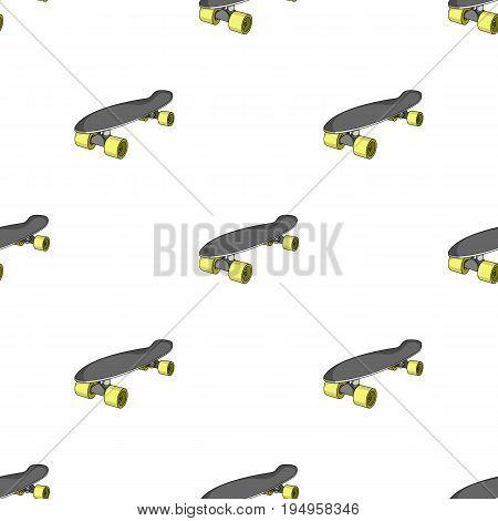 Skateboard.Extreme sport single icon in cartoon style vector symbol stock illustration .
